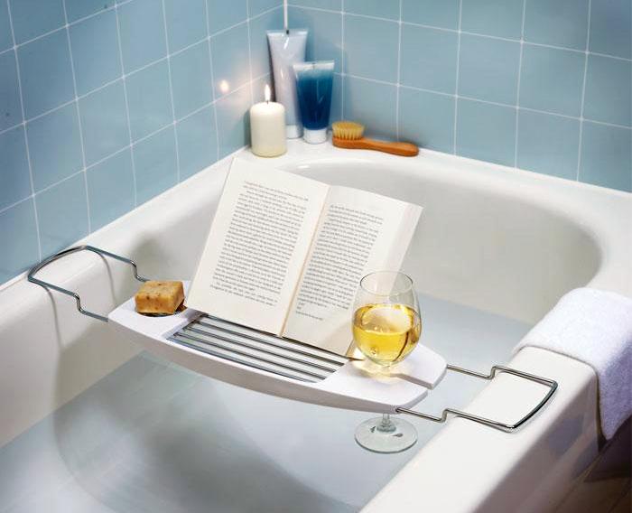#креатив@bestad. Шедевры рекламы Столик для принятия ванны.